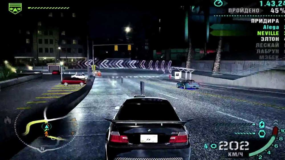 Скачать Need for Speed Carbon торрент бесплатно