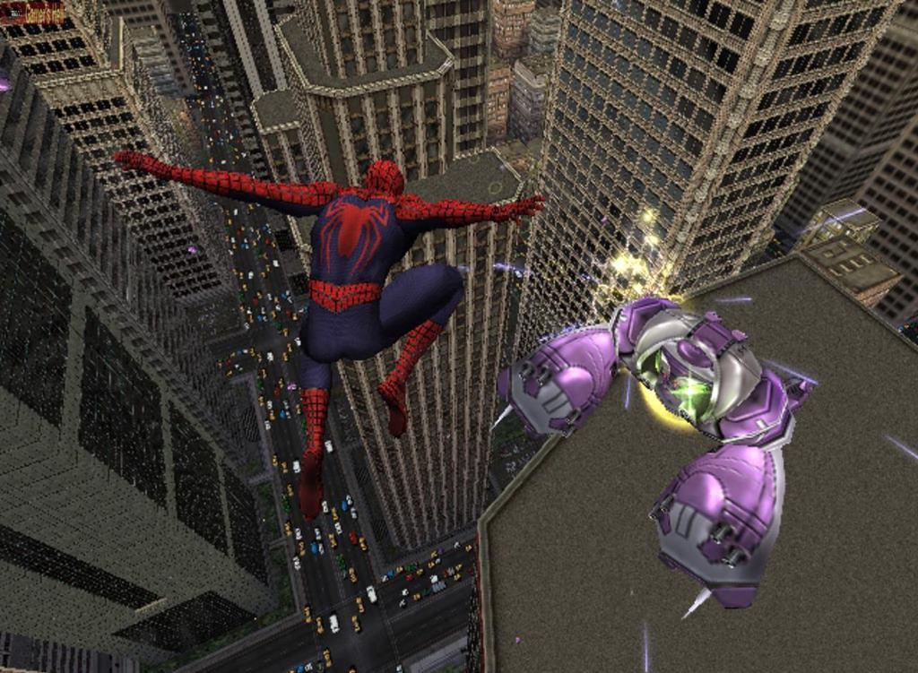 Скачать игру Человек Паук на компьютер бесплатно (635 МБ)