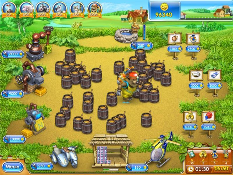 Веселая ферма3 русская рулетка обои, картинки тема казино