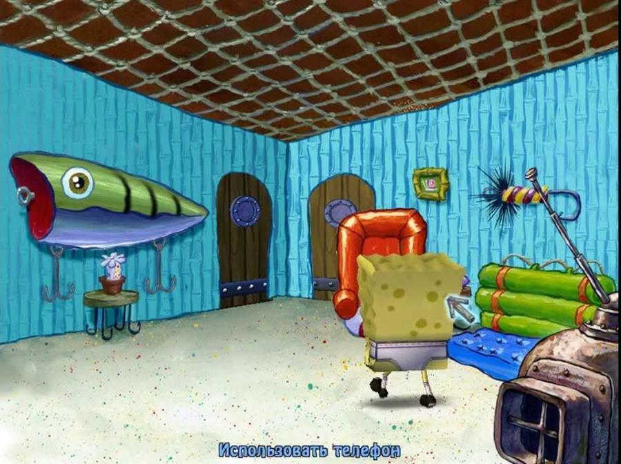 Губка боб: квадратные штаны / spongebob squarepants: the movie.