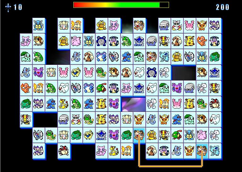 Логическая Игра Покемоны Пао Пао