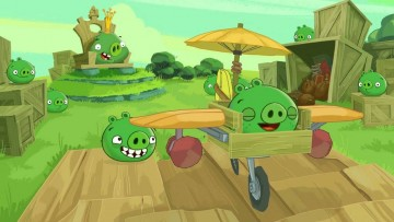 играть в Bad Piggies без регистрации