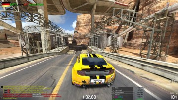 играть в TrackMania 2 Canyon без регистрации