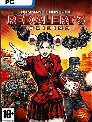 Command & Conquer Red Alert 3 — Uprising
